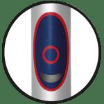 Laser Medizintechnik Minilaser Ein/Aus Schalter