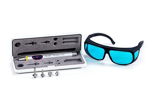 Laser Medizintechnik, Set mit Brille