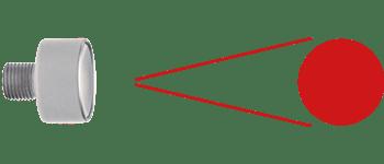 Laser Medizintechnik Minilaser Diffusorlinse